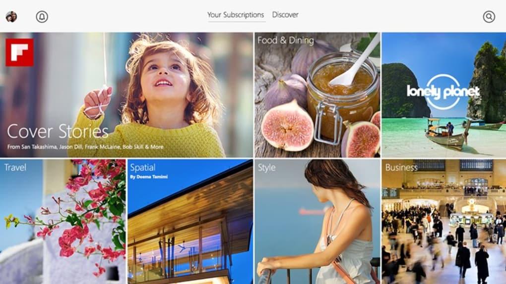 Flipboard for Windows 10