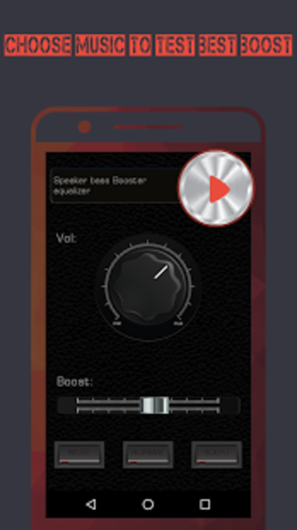 Speaker Bass Booster Equalizer for Android - Download