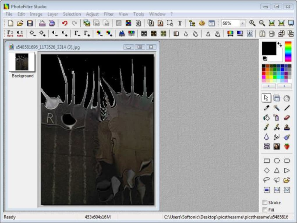 photofiltre studio 9.2.1