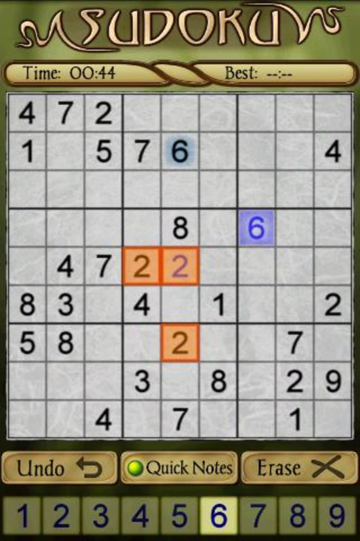 sudoku gratis per cellulare
