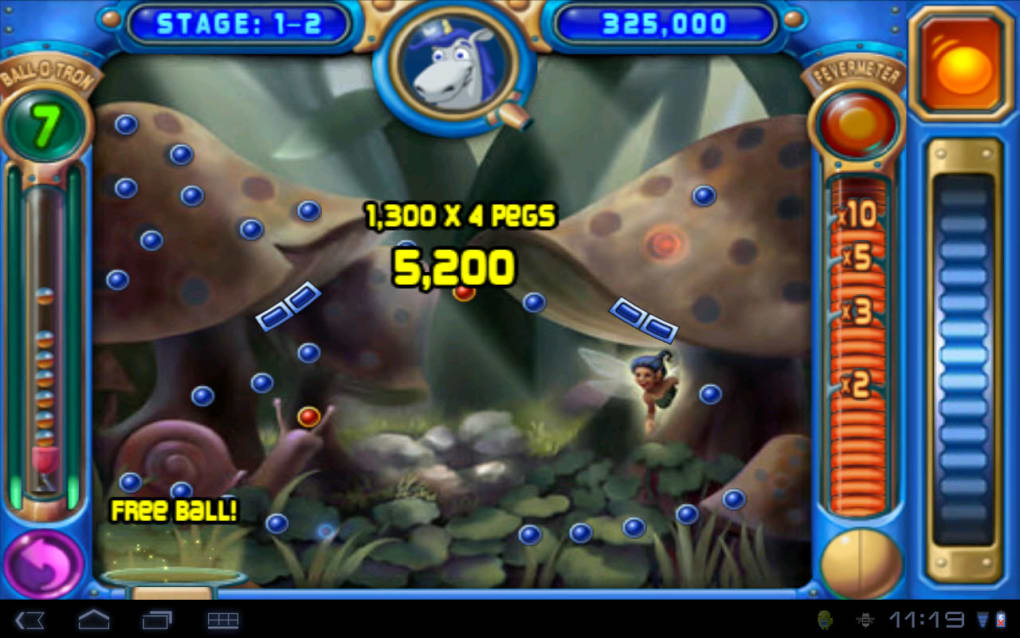 Download free peggle android mobile phone game