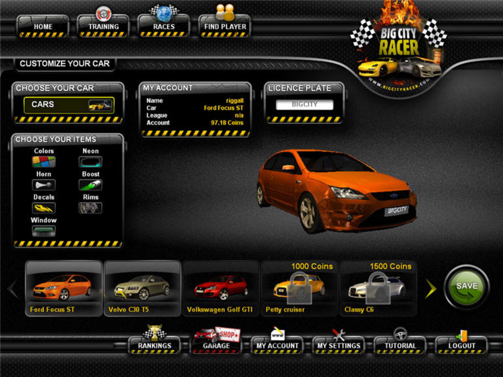 Car Racing Games For PC Free Download