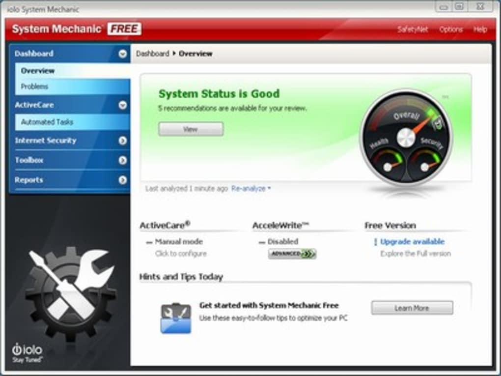 system mechanic download free