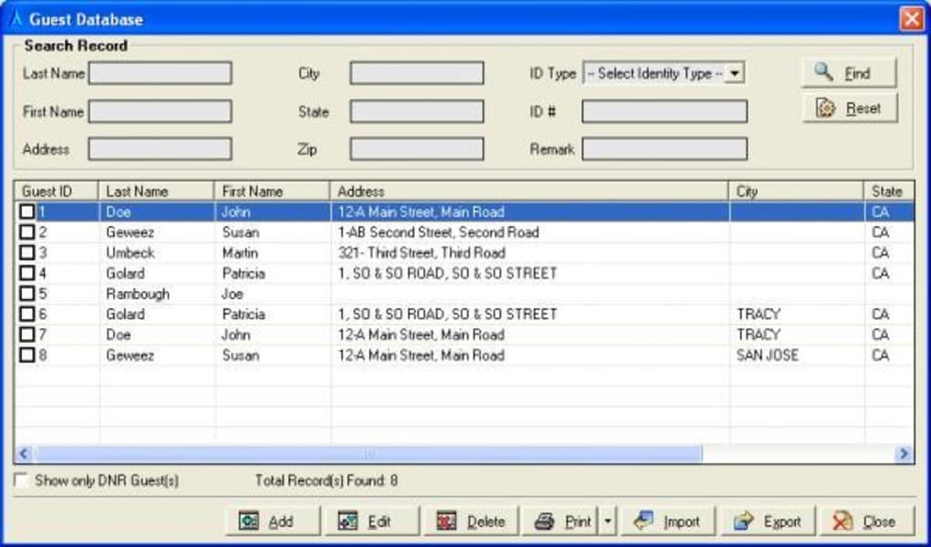 ASI FrontDesk Hotel/Motel Software - Download