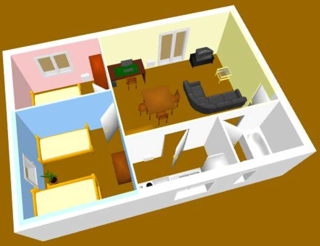 Sweet home 3d download for Kostenloser einrichtungsplaner
