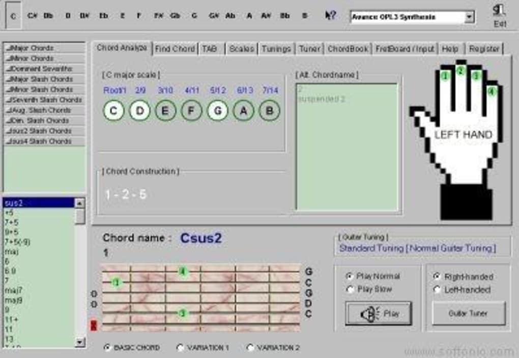 Super Guitar Chord Finder Descargar