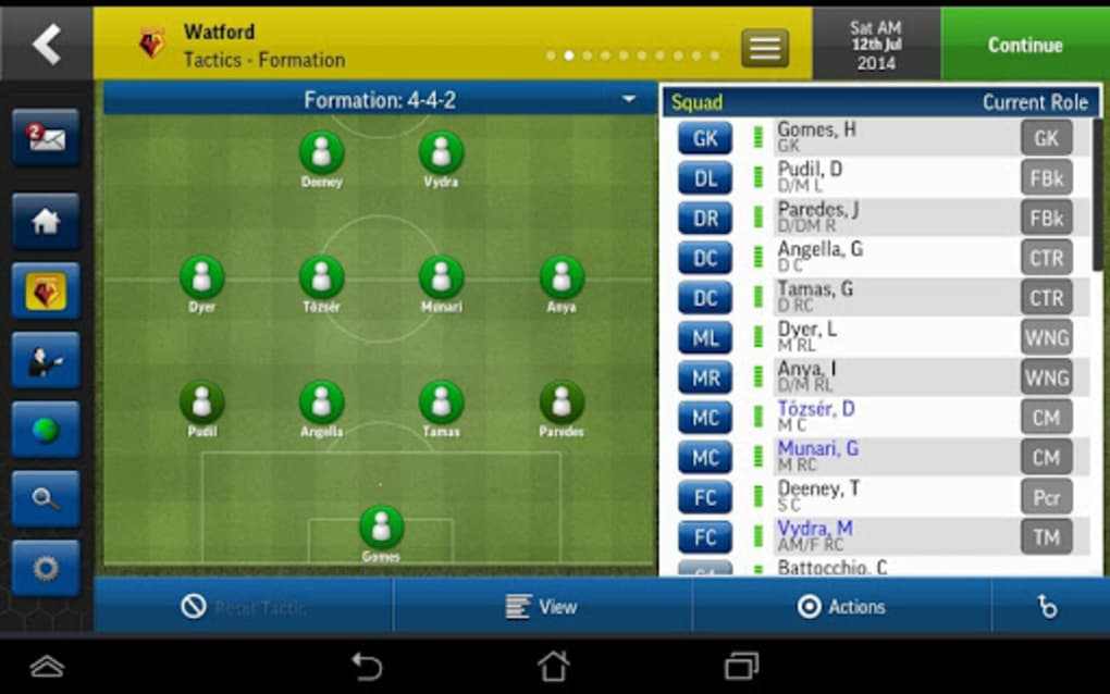 football manager 2015 free download for android