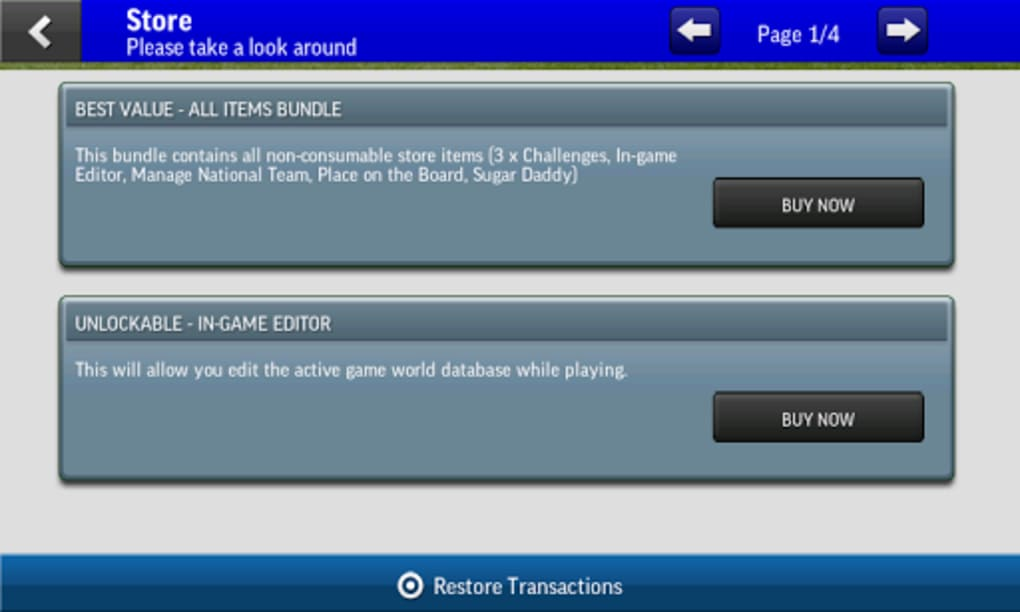 Football Manager Handheld 2015 for Android - Download