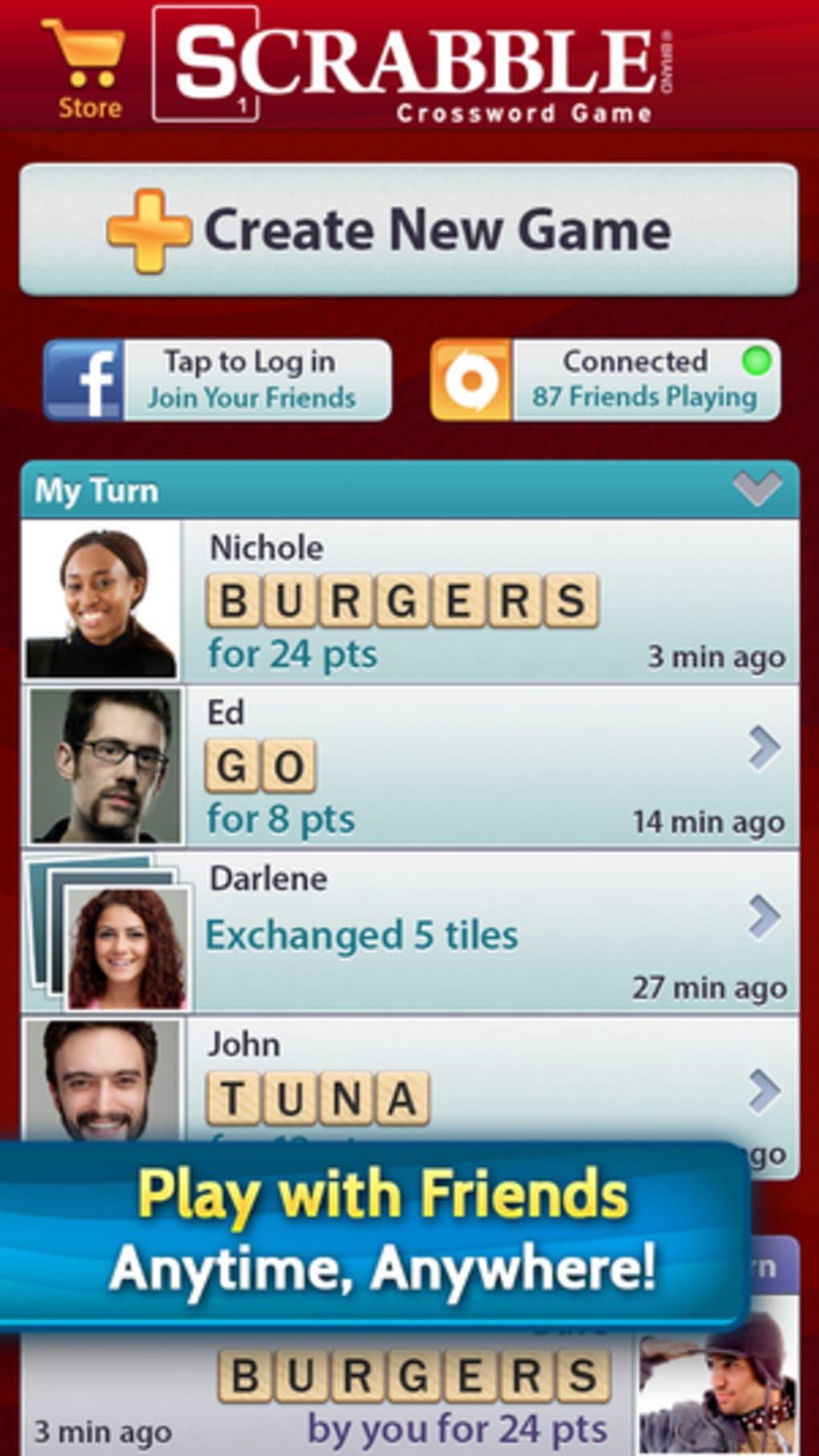 Free download of premium scrabble ios app (ea/mattel) « scrabble.