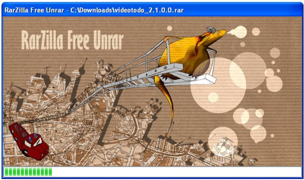 RarZilla Free Unrar - Download