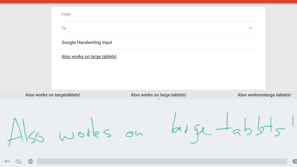 Google Handwriting Input for Android - Download