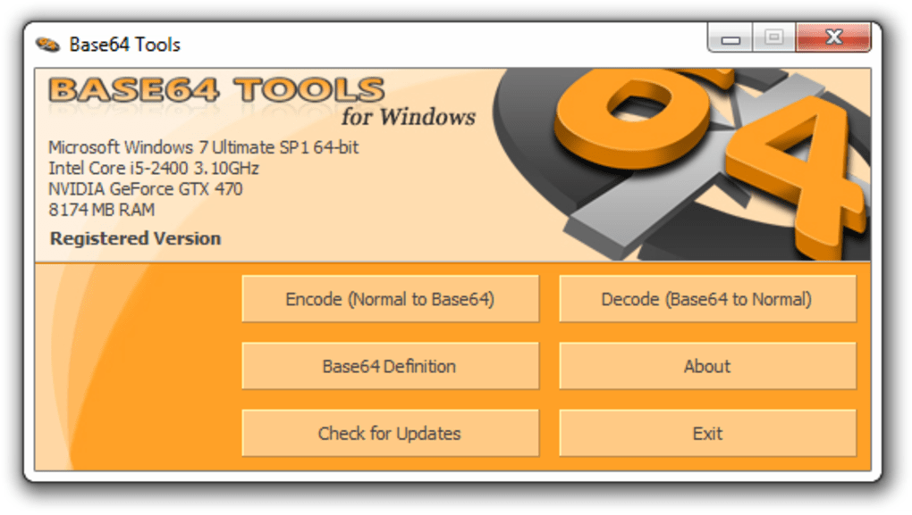 Base64 Tools - Download