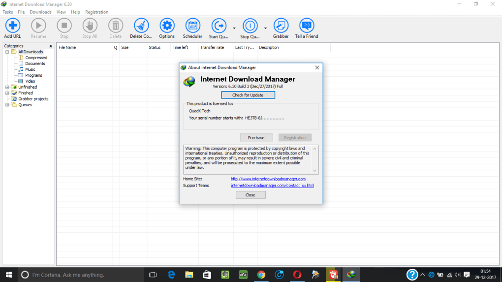 download internet download manager with crack for windows 10