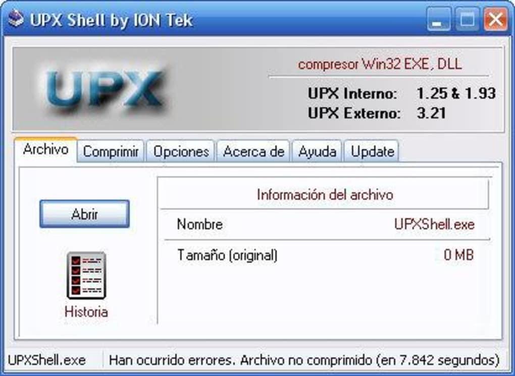 upx shell