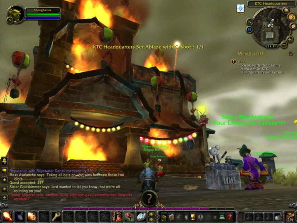 wow cataclysm gratuit clubic