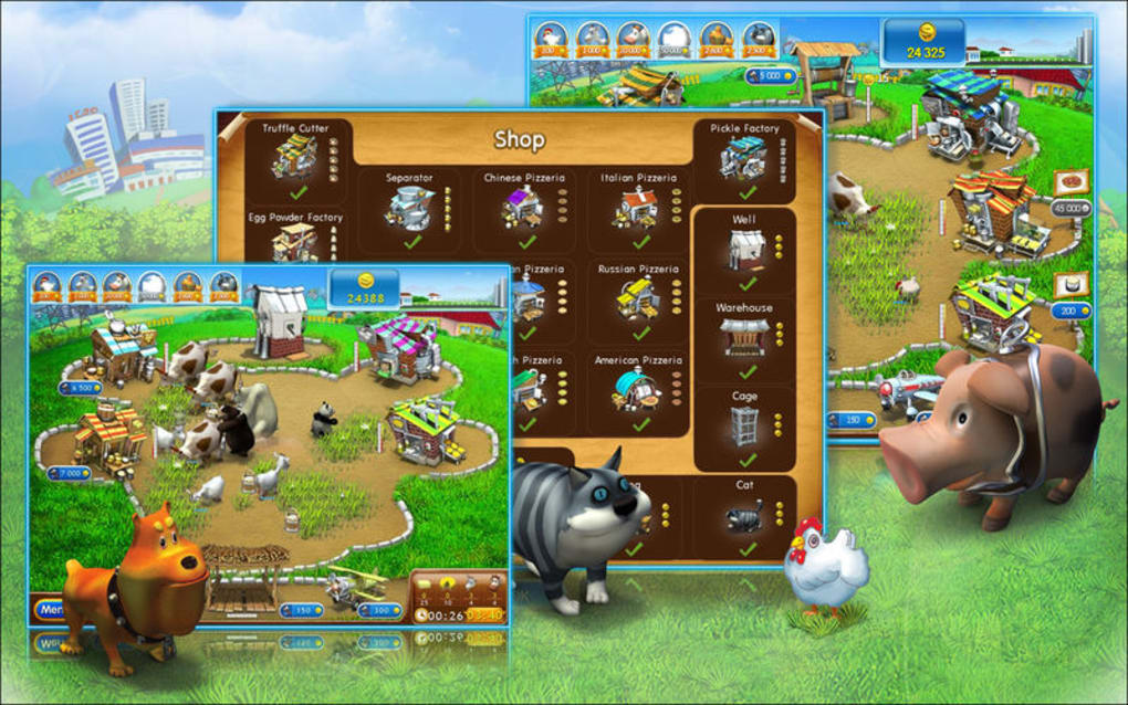 Farm Frenzy 2: Pizza Party! for Mac (Mac) - Download
