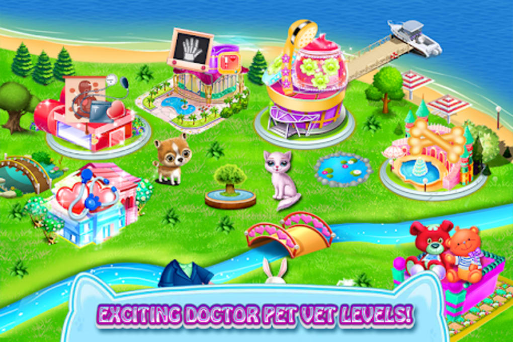 ER Pet Vet - Fluffy Puppy Fun Game for Kids for Android