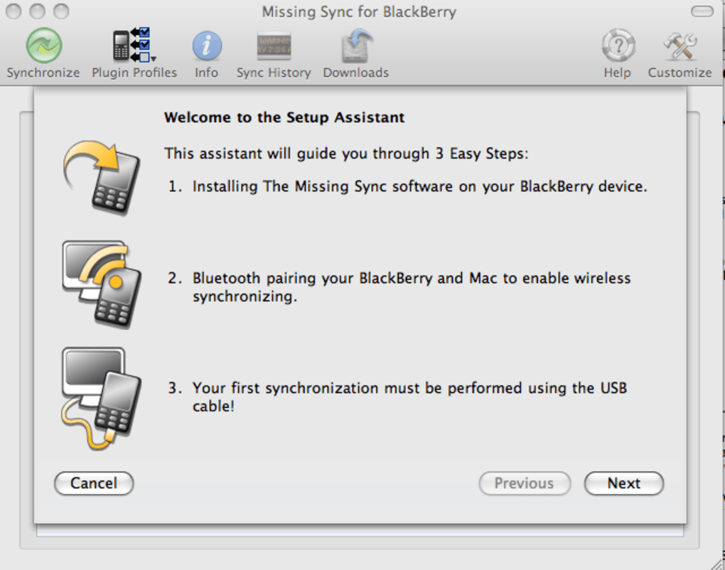 The Missing Sync for BlackBerry for Mac - Download