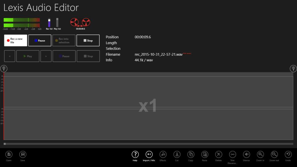 Lexis Audio Editor - Download