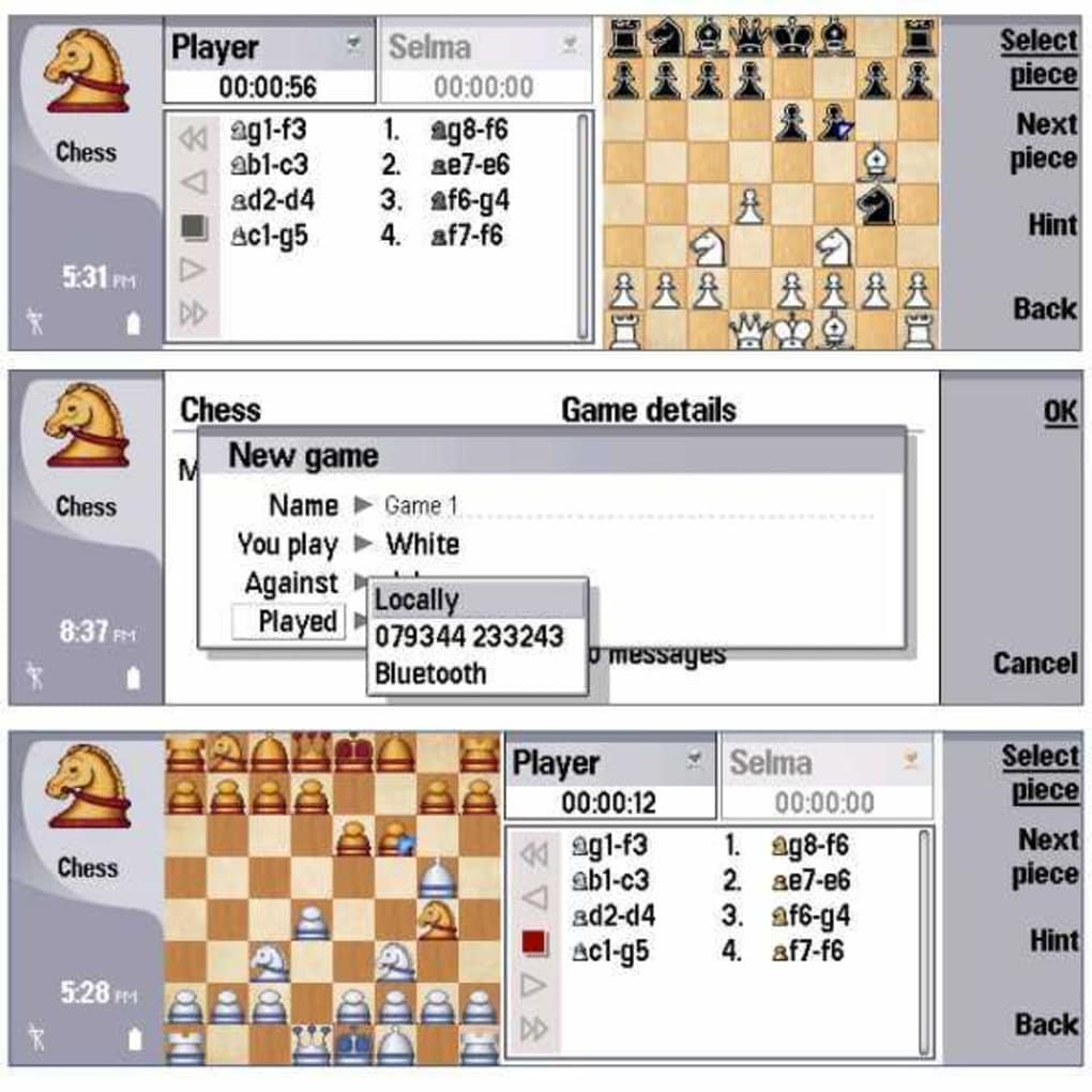 Chess Professional (S80) For Symbian