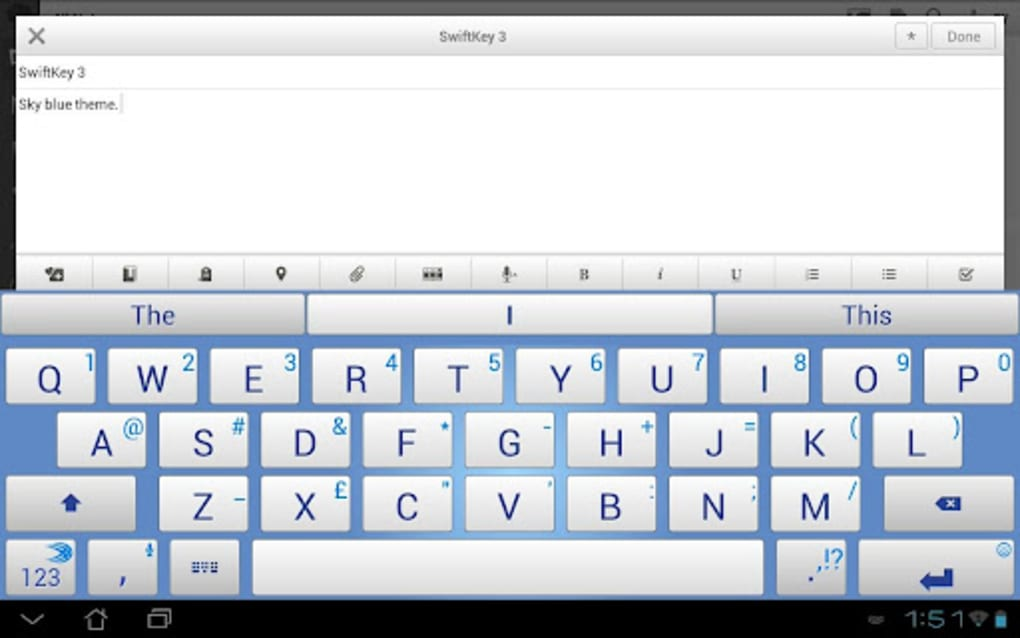 SwiftKey Tablet for Android - Download