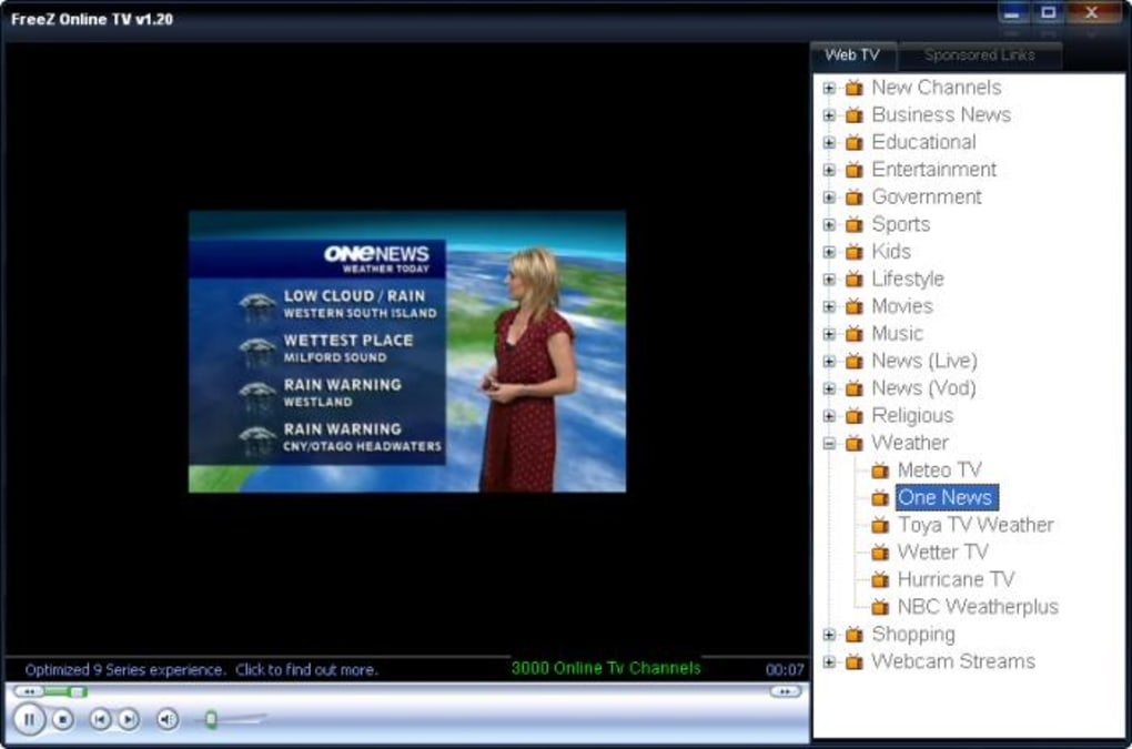 freez online tv 1.42
