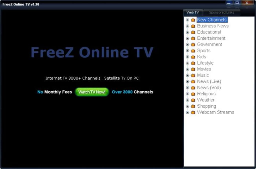 freez online tv