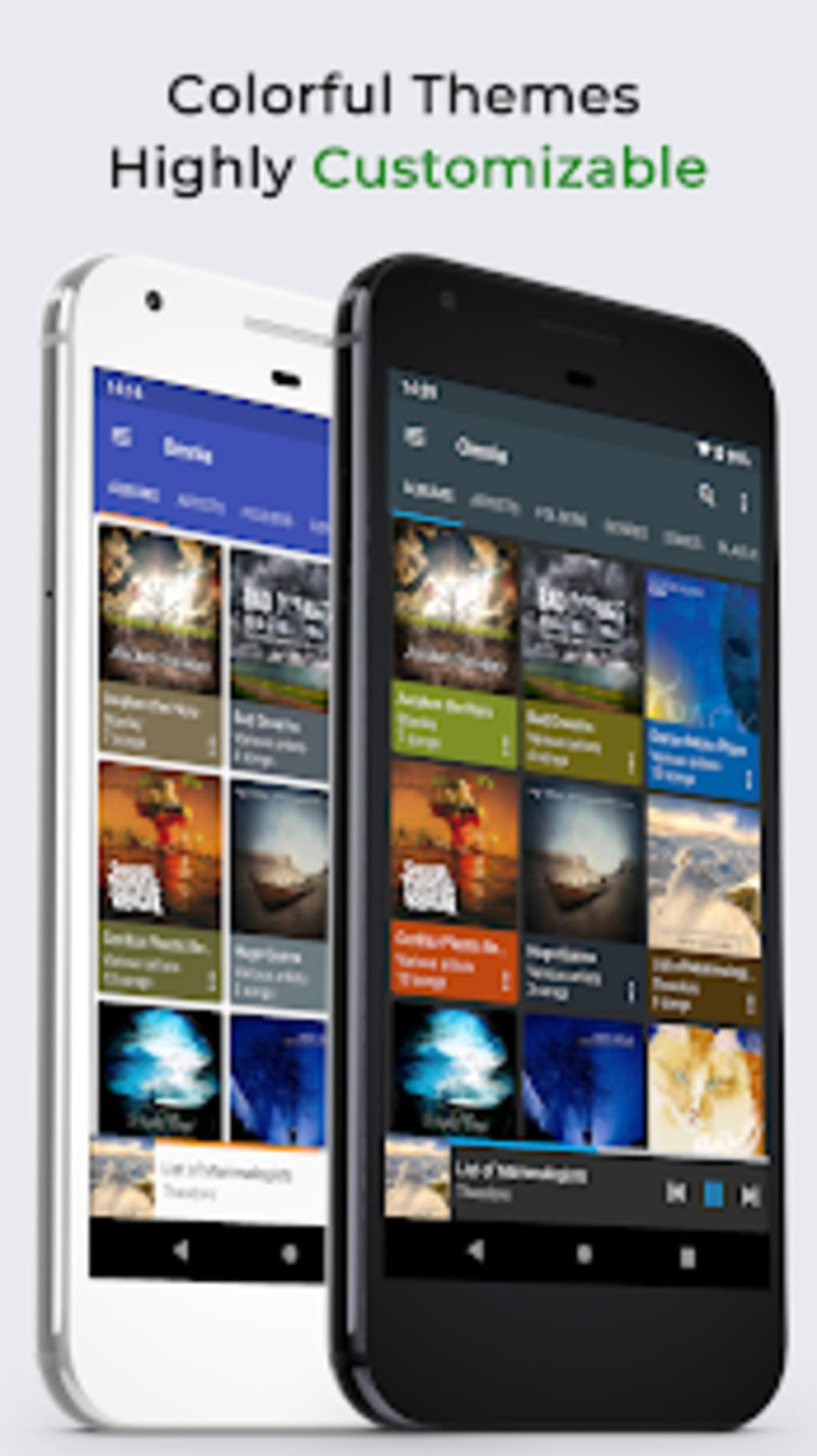 Omnia Music Player - MP3 Player APE Player Beta for Android