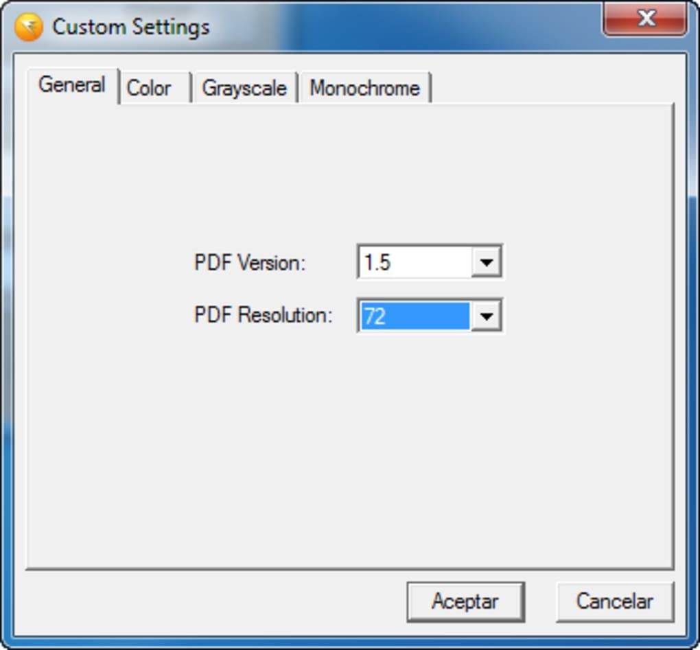 pdf creator download gratis italiano softonic