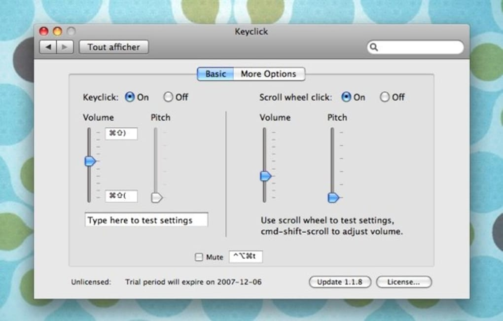 Keyclick for Mac - Download