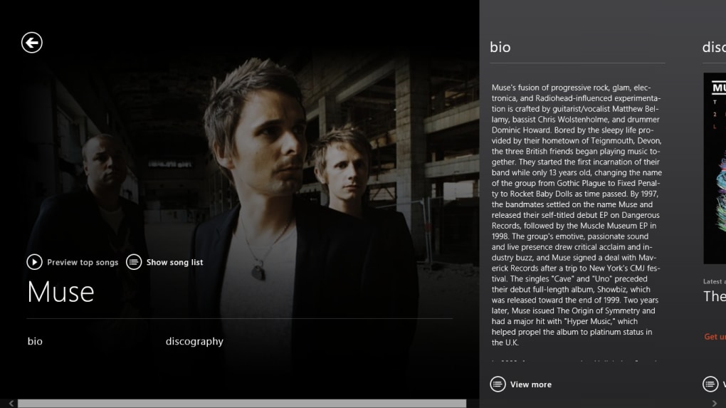 Xbox Music for Windows 10 (Windows) - Download