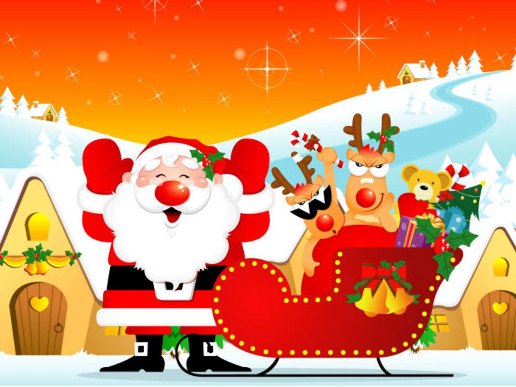 Sfondi Natalizi Gratis Per Windows 7.Christmas Windows 7 Theme Windows Download