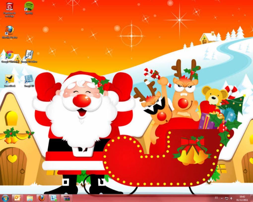 Christmas Windows 7 Theme Windows Descargar