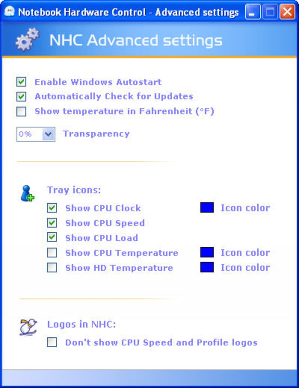 nhc windows 7