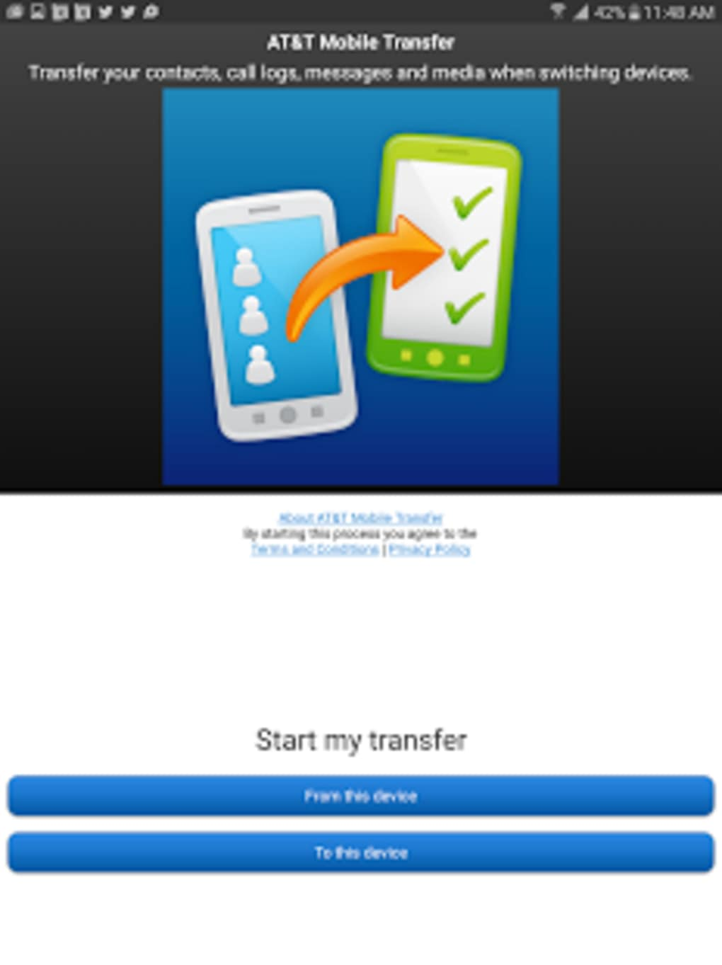 AT&T Mobile Transfer for Android - Download