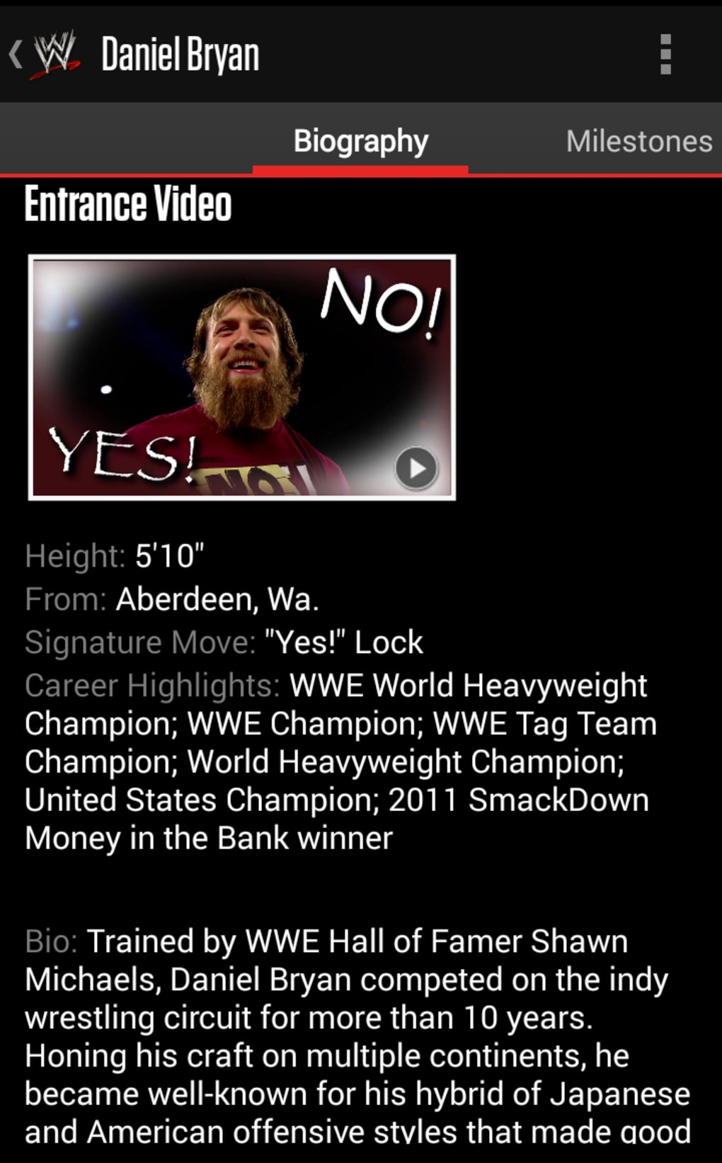 WWE for Android - Download