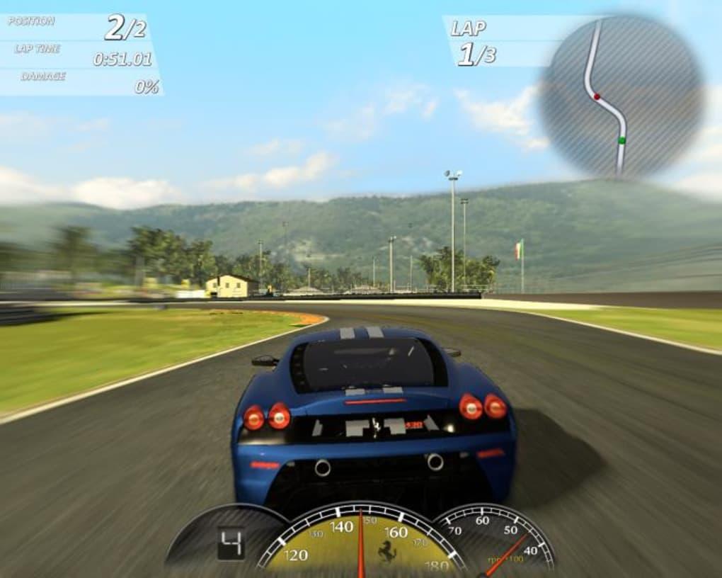ferrari virtual race game free download