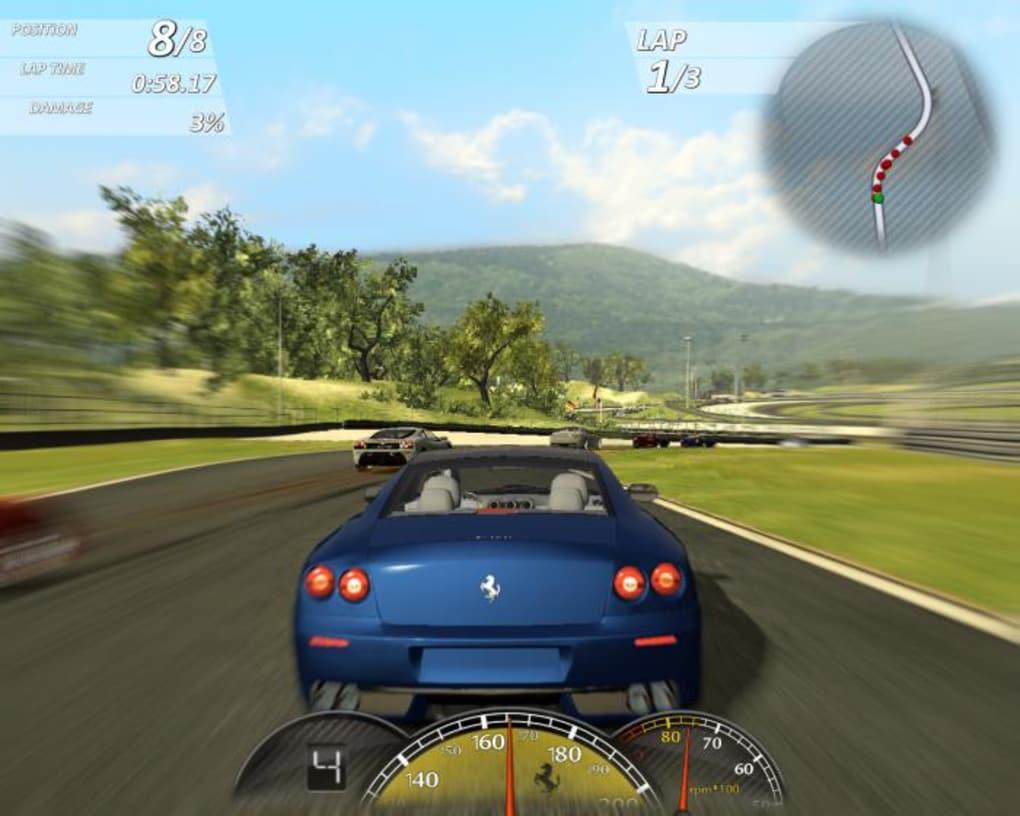 Ferrari Games >> Ferrari Virtual Race Download