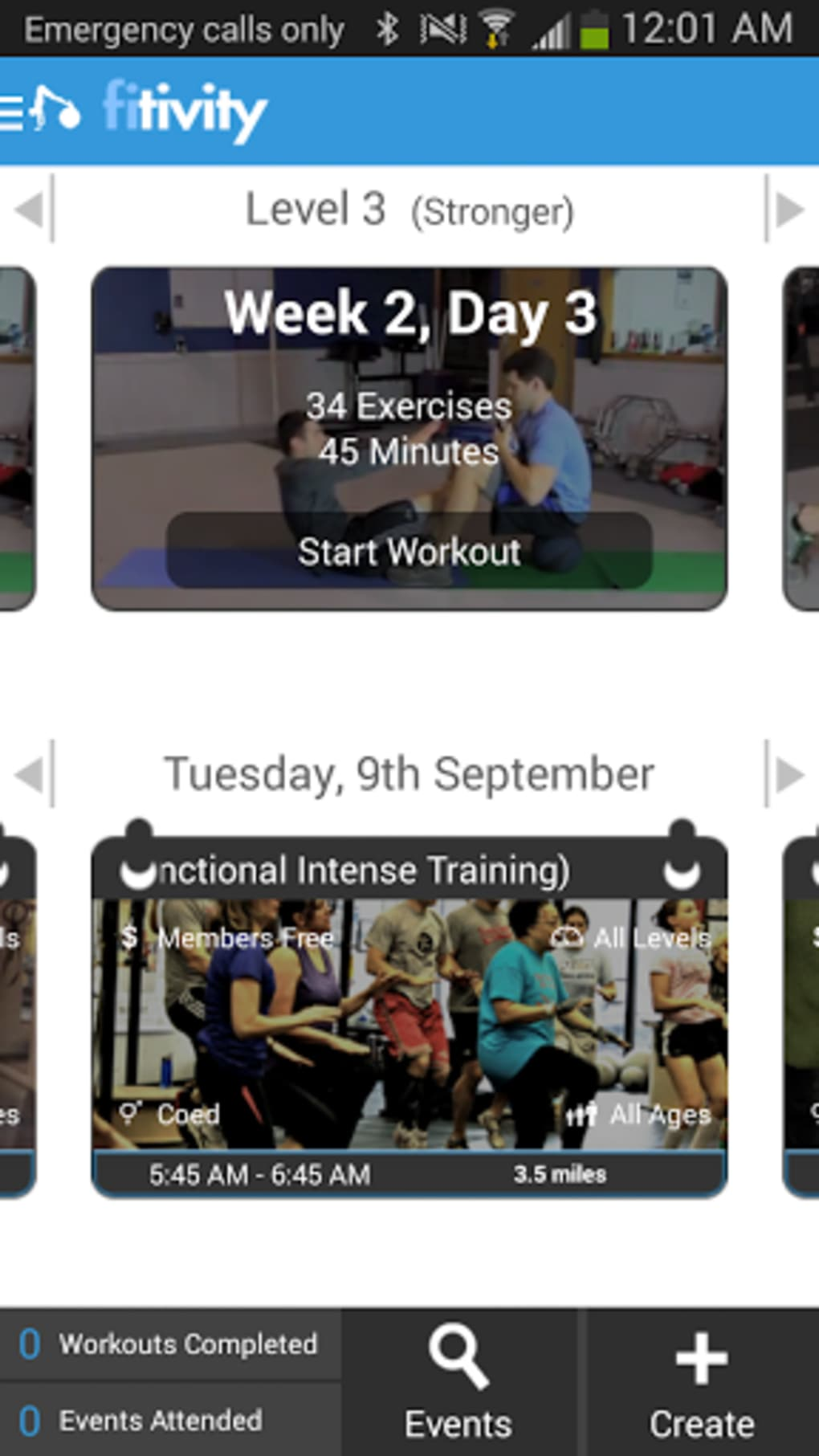 Home Workout Exercise Program para Android - Descargar