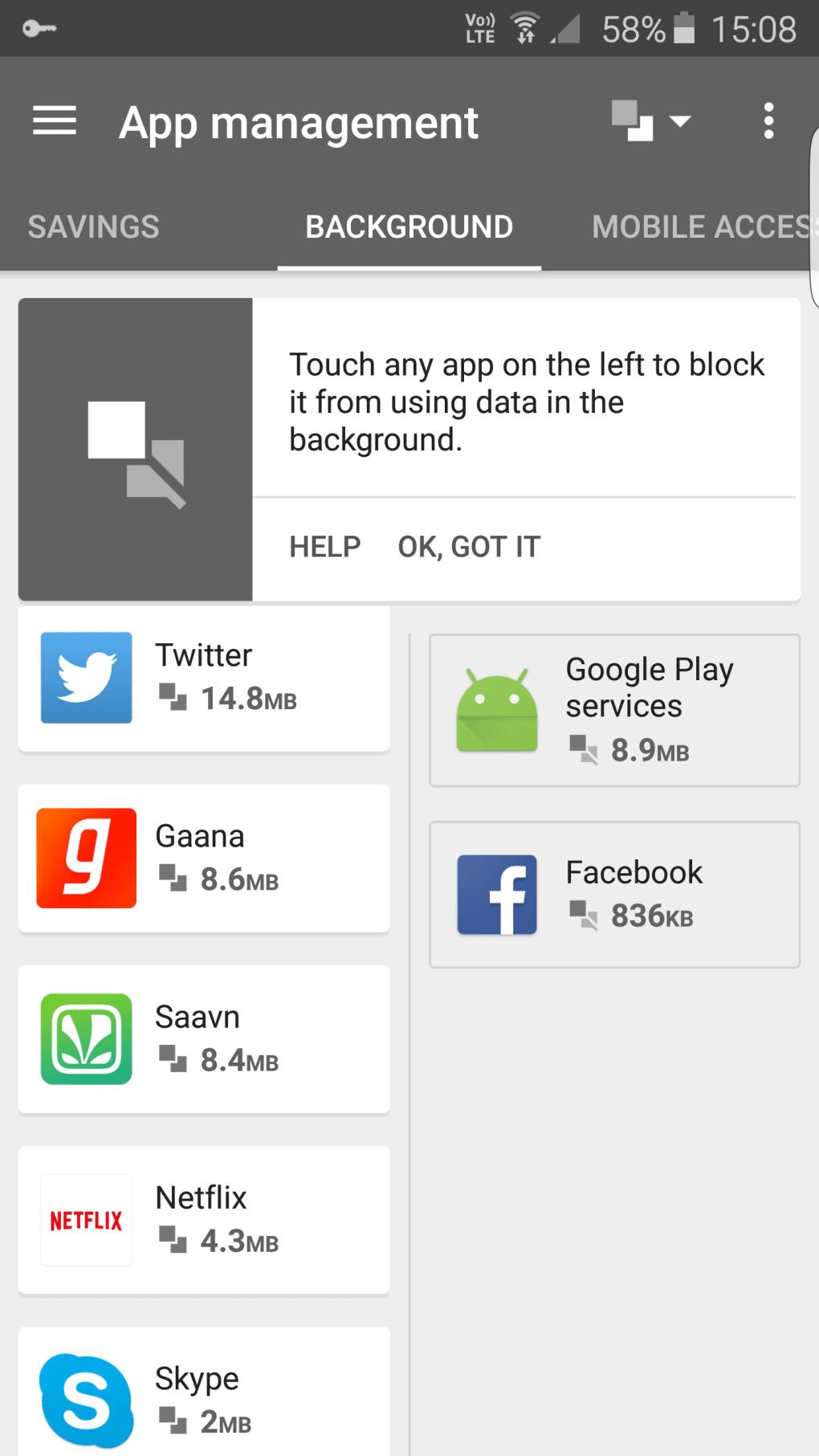 apps mit datenvolumen