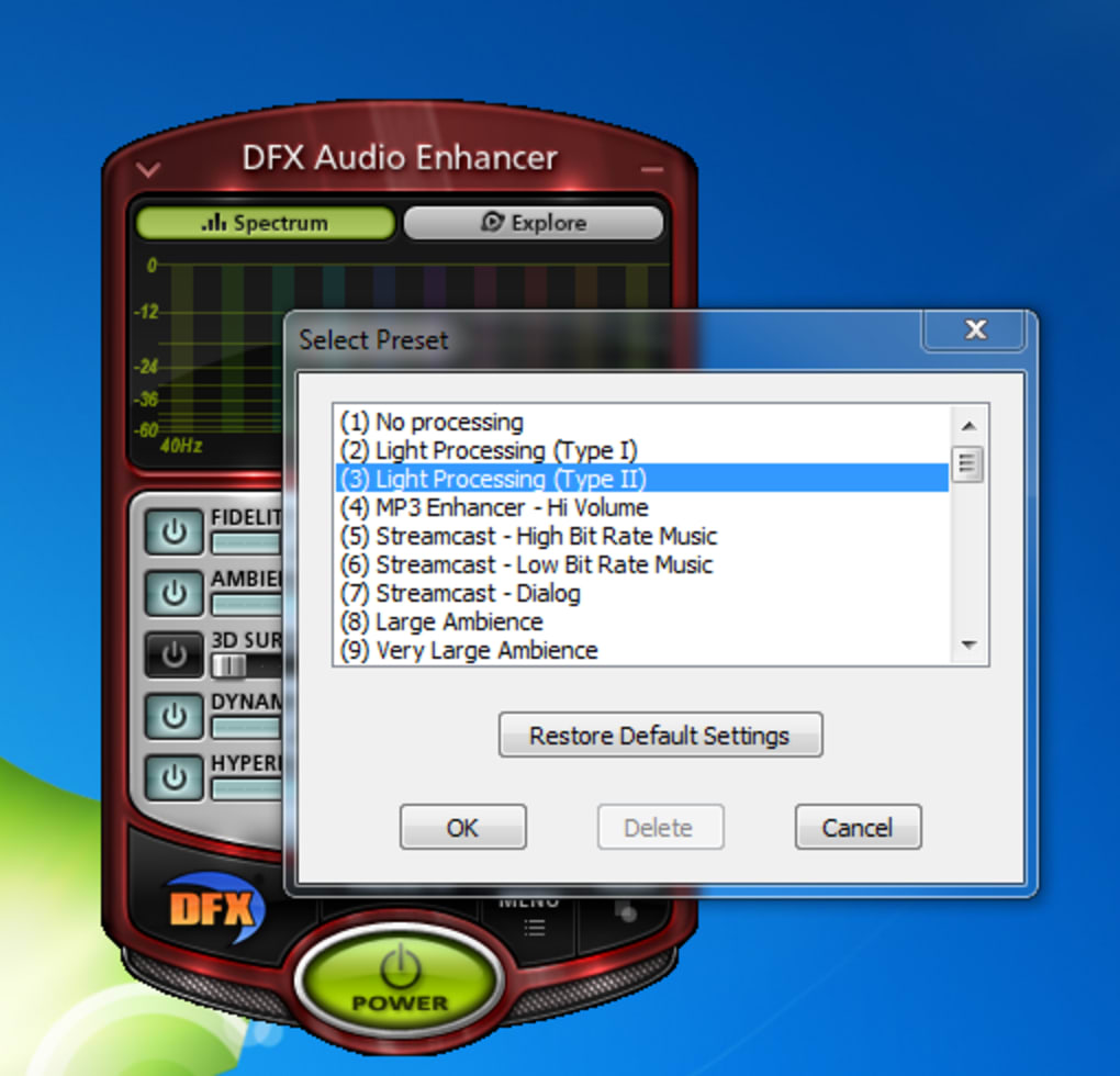 Free download audio enhancer for windows 7