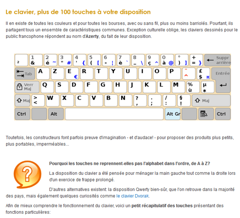 6 ressources pour <b>apprendre</b> <b>à</b> <b>taper</b> <b>au</b> <b>clavier</b> français…
