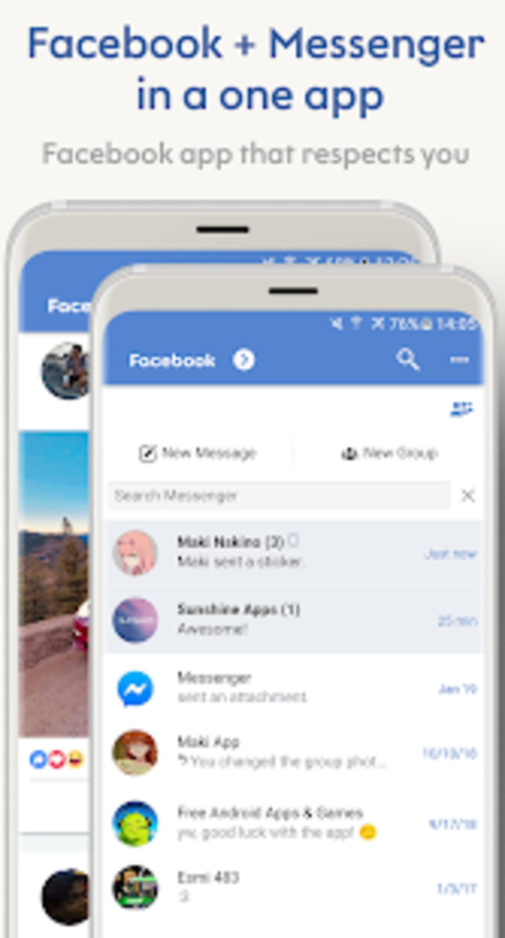 Maki for Facebook and Messenger for Android - Download