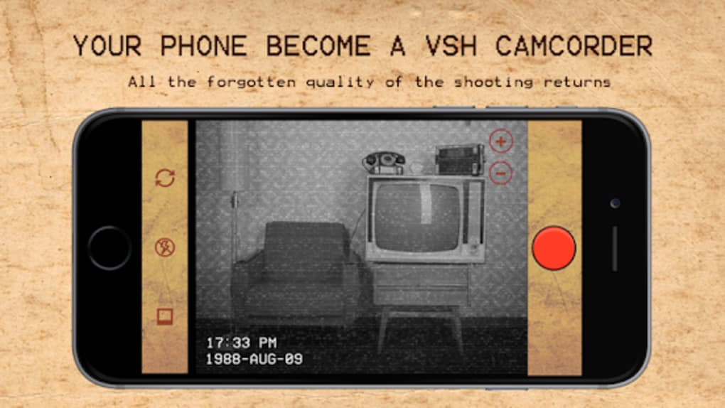 Camera Vintage Android : Vhs rec old videos retro camcorder for android download