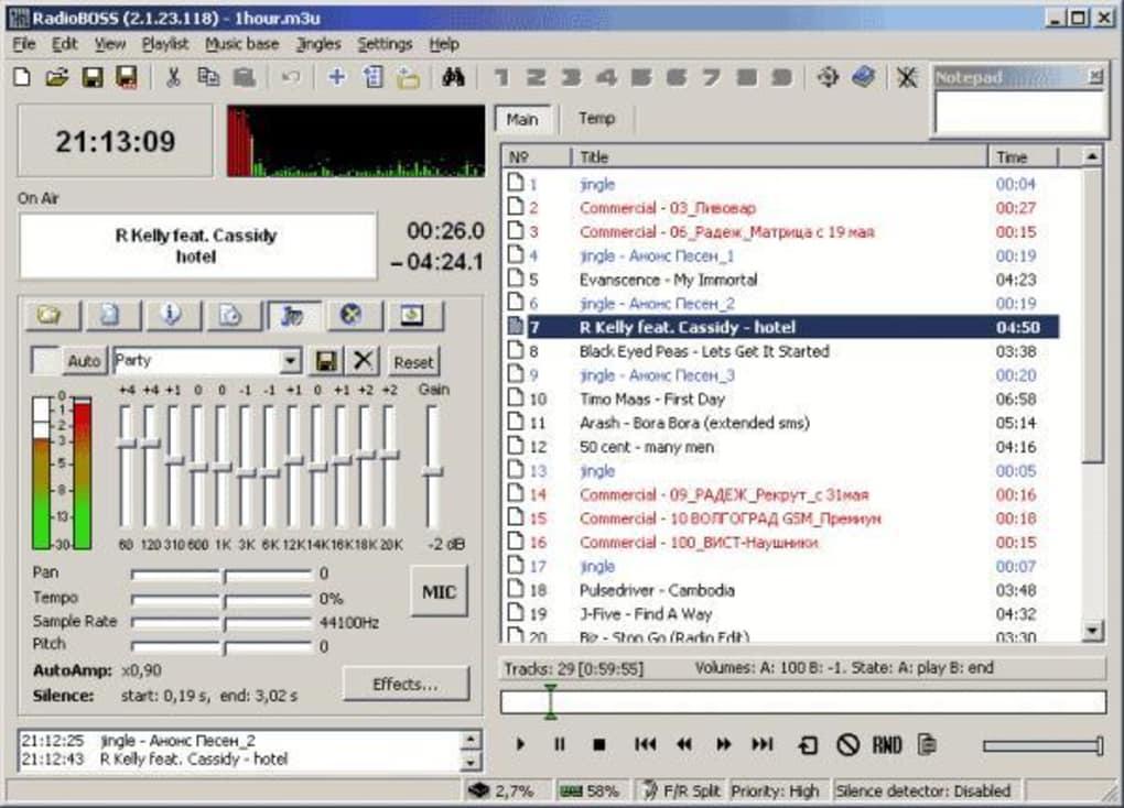 RadioBOSS - Download RadioBOSS. 1/3 Screenshots