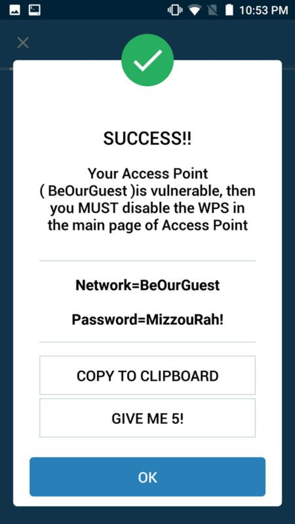 WIFI WPS WPA TESTER for Android - Download