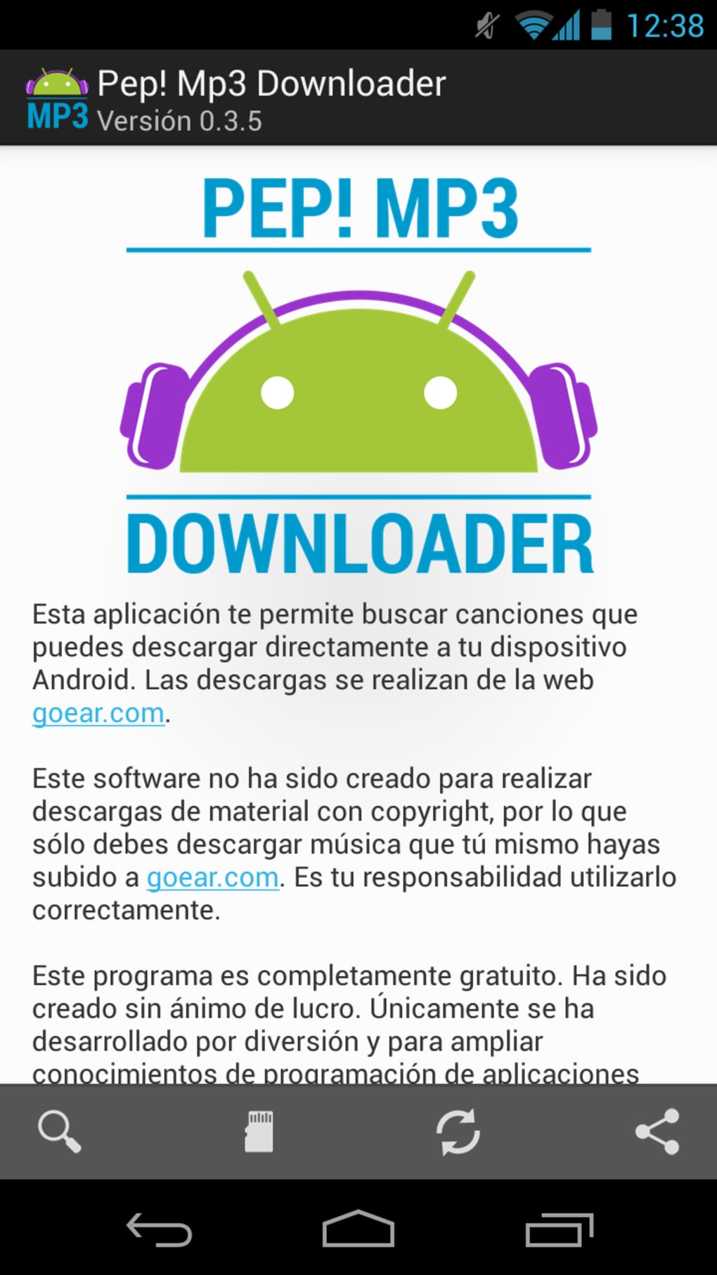 Pep! MP3 Downloader para Android - Descargar