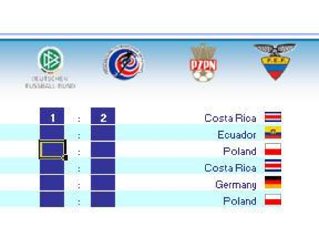FIFA World Cup Predictor Game - Download