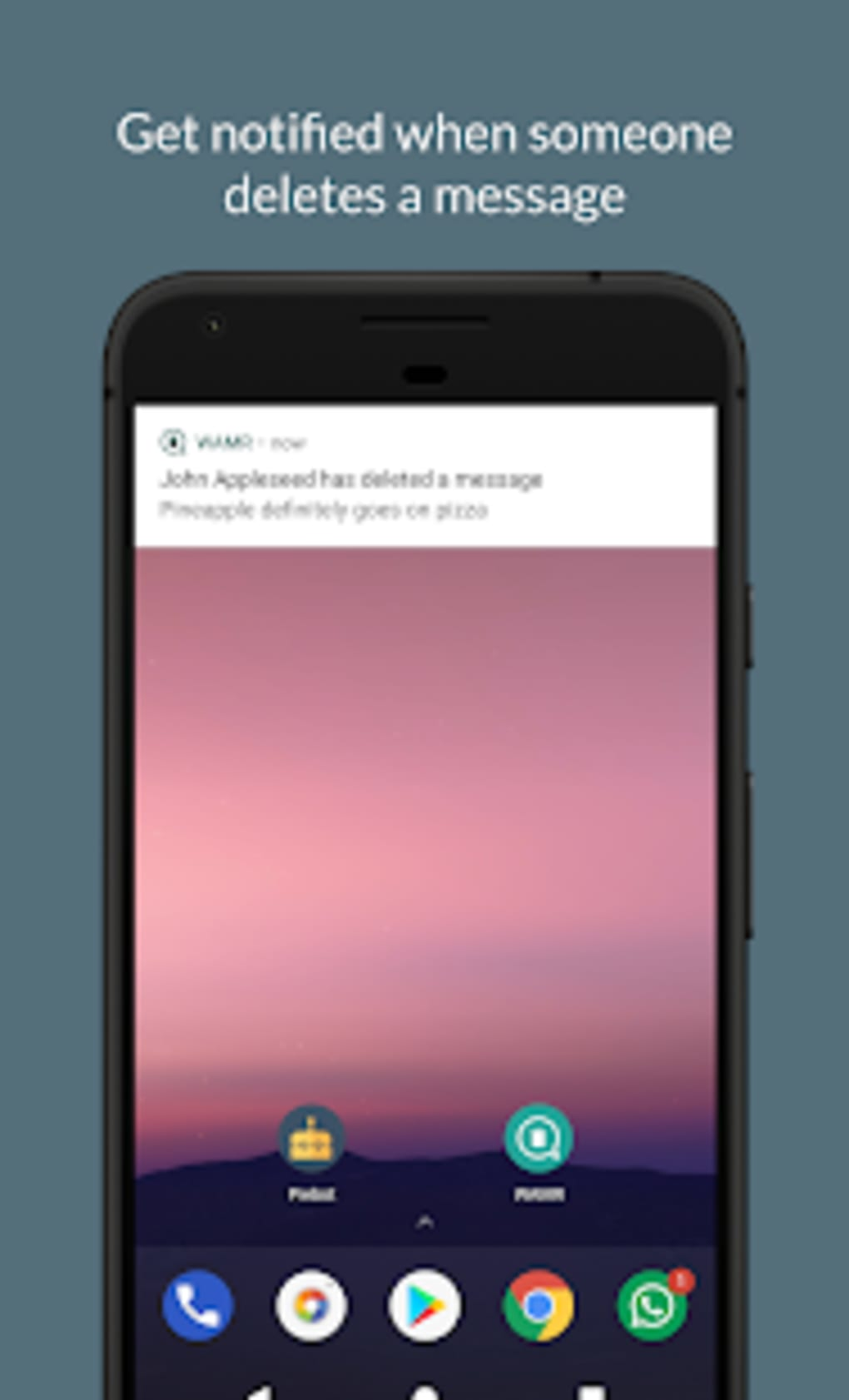 WAMR - Recover deleted messages status download for Android
