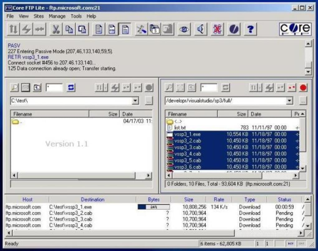 Core Ftp Lite Download